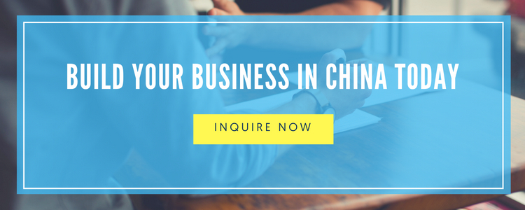 build your business in china today